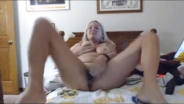 BBC dildo masturbation and dirty talk