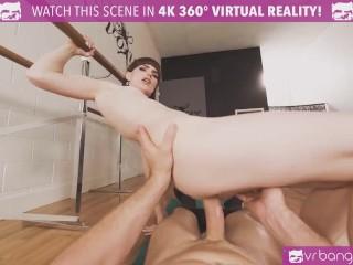 VRB TRANS Bareback Practice With Skinny Ballerina