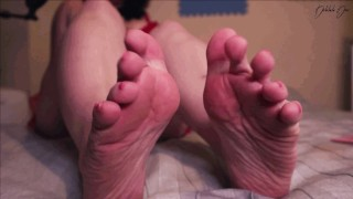Sexy Wrinkled Soles - Jerk Off Instructions