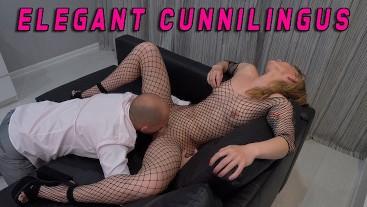 Elegant Cunnilingus for Chic Woman with the sweetest pussy in the World