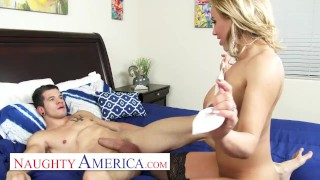 Naughty America Fill'er Up Fast Before The Husband Gets Home!