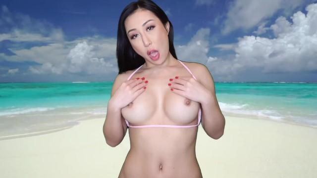 Bikini micro model pic Bikini try on haul at the beach with nicole doshi