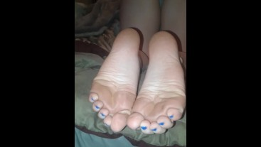 GF sexy slightly dirty soles - for the filthy sole lovers!