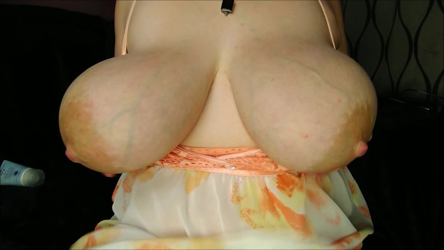 Heavy natural tits anal Massive boobs with huge areolas heavy saggy hangers