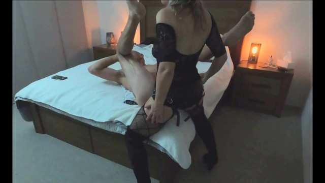 Adult download to own Huge cumshot in his own mouth after intense strapon pegging - min moo