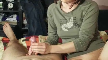 Edging with 2 cumshots in a row