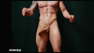 Massive cock in slow motion !!