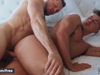 Mencom guy has his butthole drilled by his straight friend