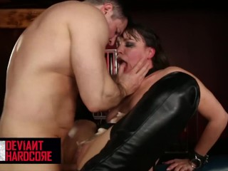 Deviant Hardcore – Gorgeous Milf Dana Dearmond Fucked Rough and Facialized