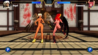 Game Play Hentai Fighter - Demon vs Angel