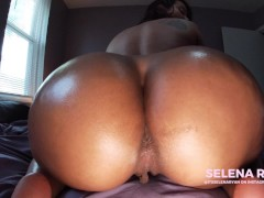 Twerking JOI: Bubble Butt Latina's Massive Oiled Ass - SelenaRyan