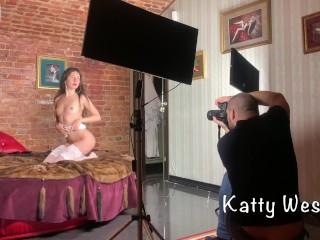 Luxury girl/verified models/photo scene backstage nude behind