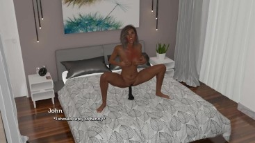 Cuckold Couple: My Wife is Teasing Her Boss WIth a Dildo in Her Pussy-S2E28