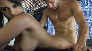 Fucking a Hot Latina in a Public Park