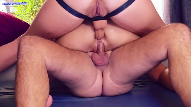 Big Ass Spanish Milf Gets Double Fisted And Strapon Domination