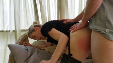 Smoking while getting fuck from  behind