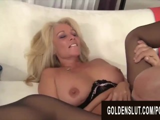 Golden Slut - Eating Mature Pussy Compilation Part 1