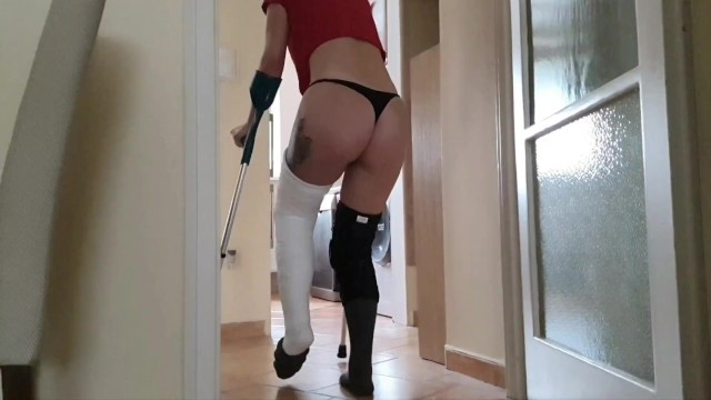 Ebony ass trailers Long leg cast pain. some relief from my bf pov part 1 trailer