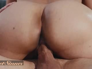 Sweet Sinner – Asian milf Dana Vespoli rides inked stud