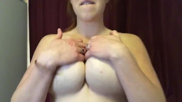 Self-Nursing, Squirting My Face & Play