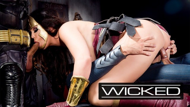 Pictures of lesbians squirting Wickedparodies - batman superman double team wonder woman