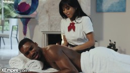 BBC Shows Asian Schoolgirl The Proper Way To Massage