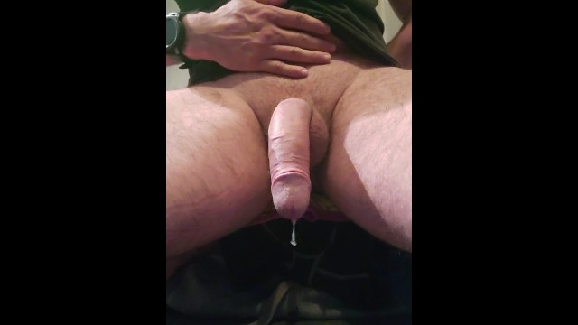 No touching that cock Milking 1: riding and milking prostate, no touch twitching and leaking cock