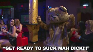 DANCING BEAR - The Sluts Are All About That CFNM Life #YOLO