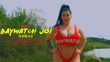 Baywatch JOI on the beach