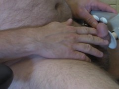 Massaging masterbation lots of moaning