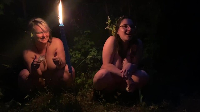 Rebecca hazlewood nude Two drunk girls pee in the woods at a party