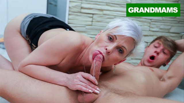 Fuck and granny and grandson Fucking spicy granny for the first time