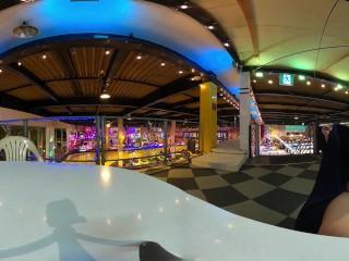 【VR360】えみりゲームセンターで露出