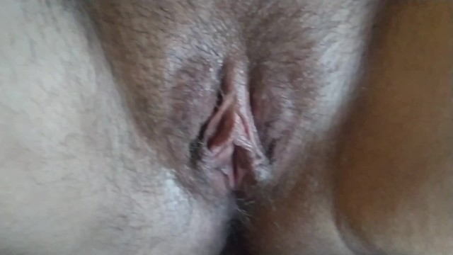 Cockhead labia fertile unprotected cunt I cum on her pussy lips,but she pushed all my cum inside her fertile pussy