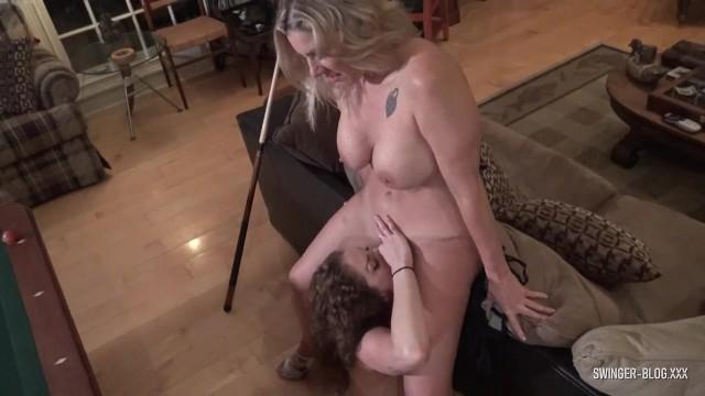 Xxx thong blog Hot amateur lesbian milfs licking and fingering wet cunts