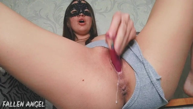 Hairy angel tatoo Sweet pussy exudes cream juices, i hotly cum with squirt_hot piss