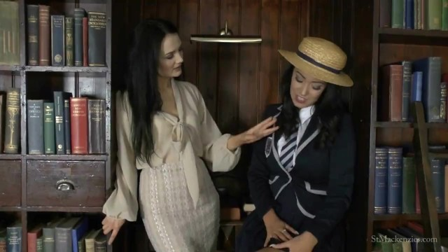 Mackenzie taylor naked St mackenzies - miss taylor strips student lauren to try on her uniform