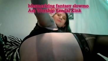 Mesmerizing fantasy slowmotion Ass twerking,shaking&spanking Ass worship