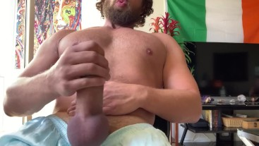 Edging my cock until my balls explode
