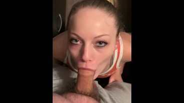 POV: sucking your dick and making you cum