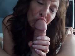Most Beautiful Granny Sucks A Big Cock So Wonderfully