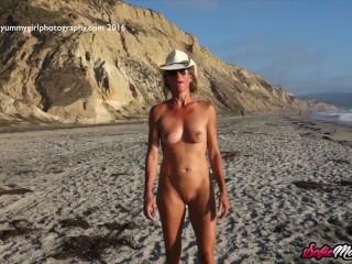 SofieMarieXXX – Irresistible Sofie Marie Teases On The Beach