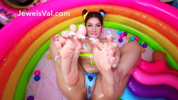 Oiled Up & Naughty in my Playpen with my Fav Toys TRAILER
