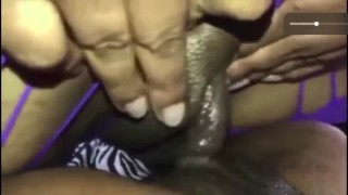 bitch screwing with big clit in a wet pussy