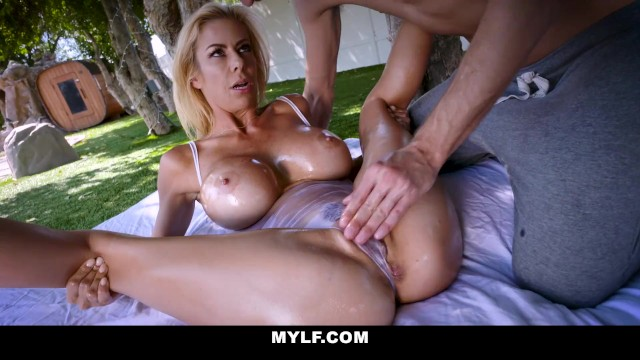 MYLF - Outdoor Sex With An Oiled Up Mature Babe