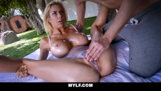 MYLF – Outdoor Sex With An Oiled Up Mature Babe