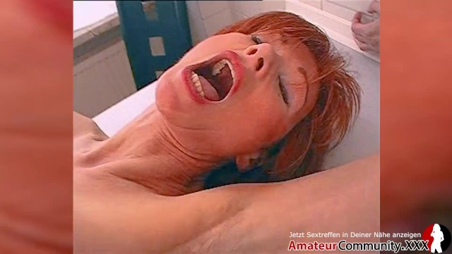 Wooden spools of thread vintage Hot milf fucked in ass and satisfied with a wooden spoon