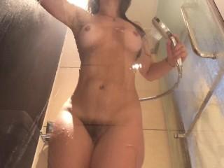 Dani Daniels . com – Shower Head Orgasm and Twerk