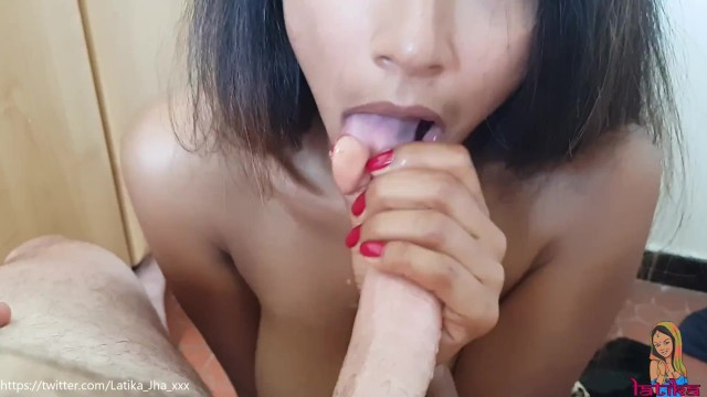 Swiss watch vintage Latika jha - amateur blowjob by an indian cutie on a swiss cock lj_002