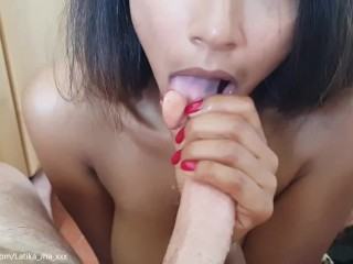 Latika Jha – Amateur Blowjob by an Indian Cutie on a Swiss Cock (LJ_002)
